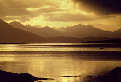 The Skye Cuillin from Dornie